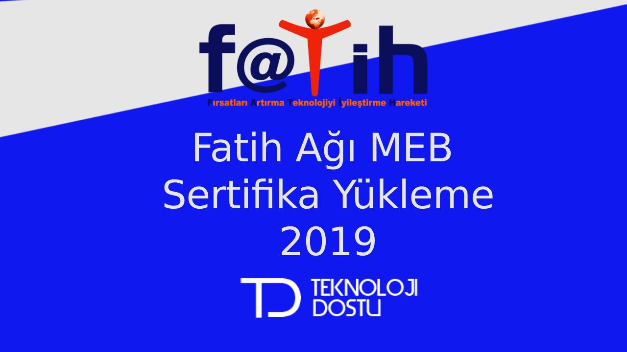 Fatih Meb Sertifika