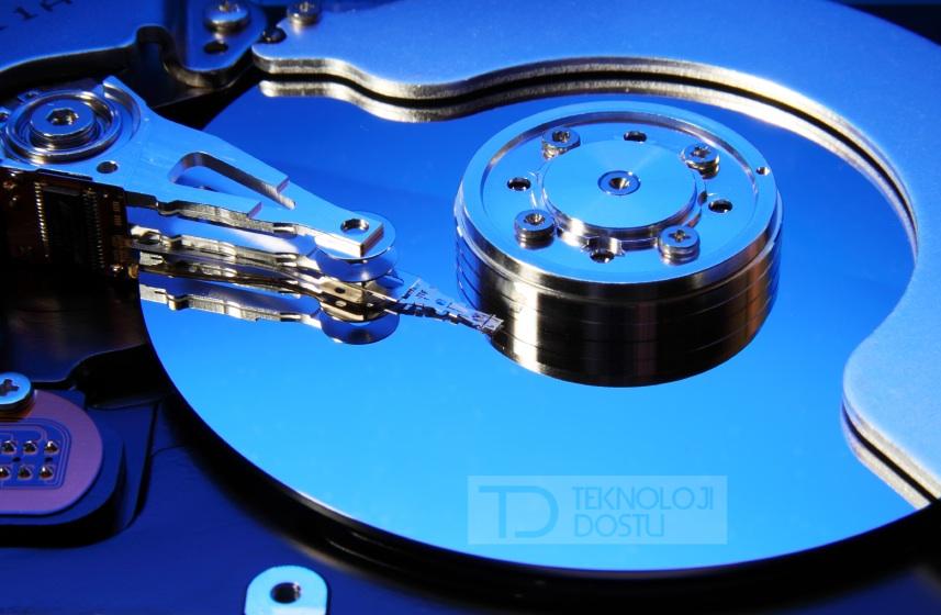diskteki verileri kalıcı olarak nasıl silerim ?