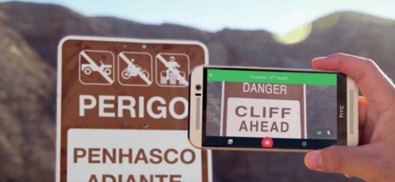 Google Çeviri'nin Anlık Kamera Çevirisi Geliştirildi