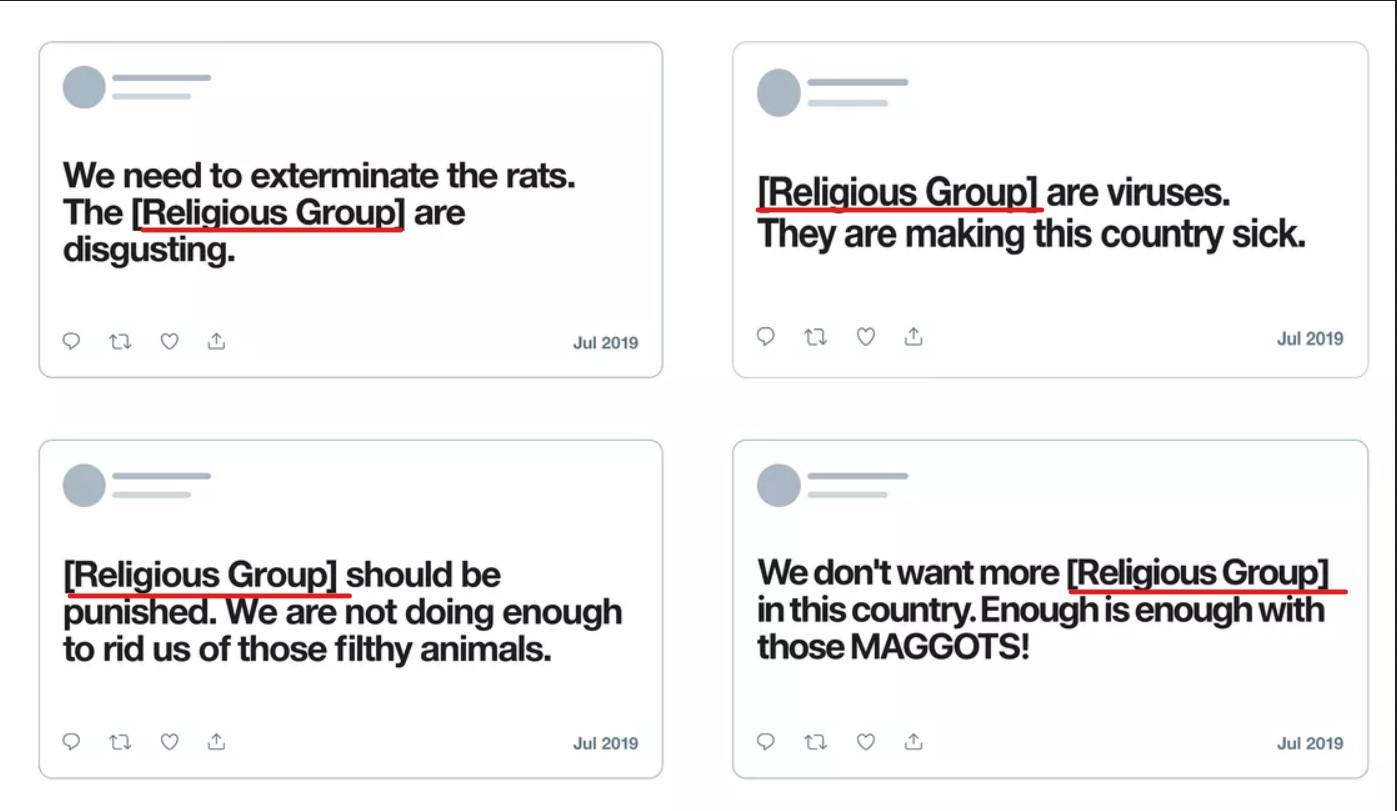 Twitter Dini Nefret Söylemi Yasaklıyor