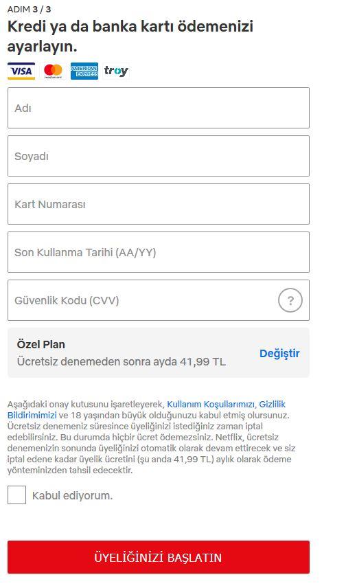 Ücretsiz Netflix Kullanımı