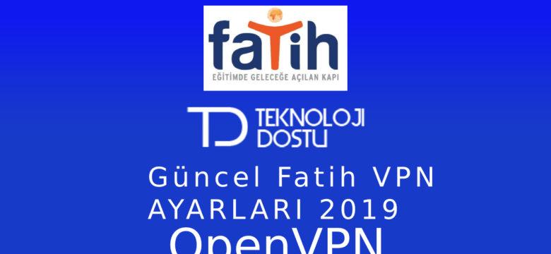 OpenVPN İle Akıllı Tahta Engel Kaldırma [2020] Fatih VPN