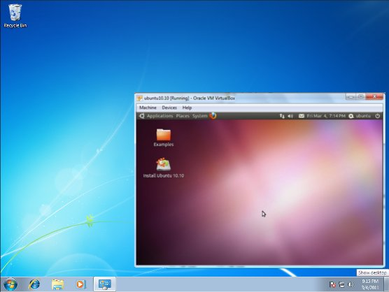 virtualbox sanal makine