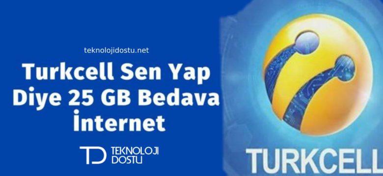 Turkcell Bedava İnternet 2019 – Yeni Geçerli Yöntemler
