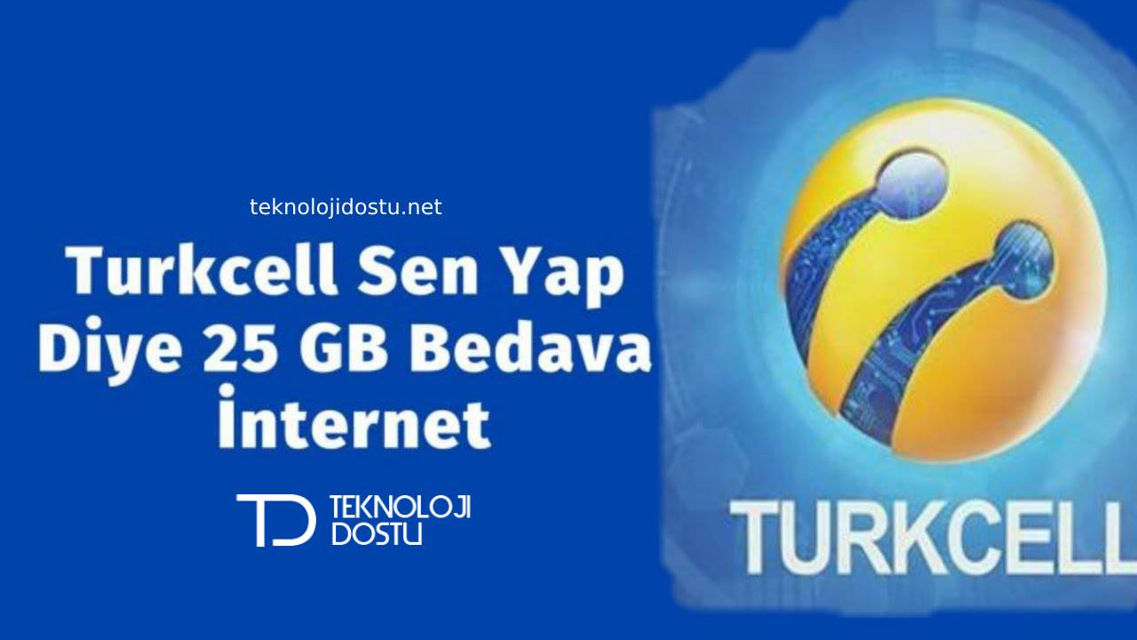 Turkcell bedava internet sen yap diye