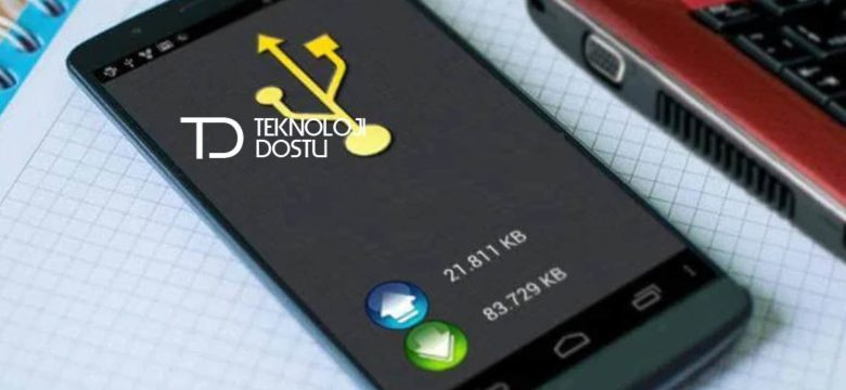 Android Telefondaki WiFi'ı USB ile Masaüstünde WiFi Kullanma