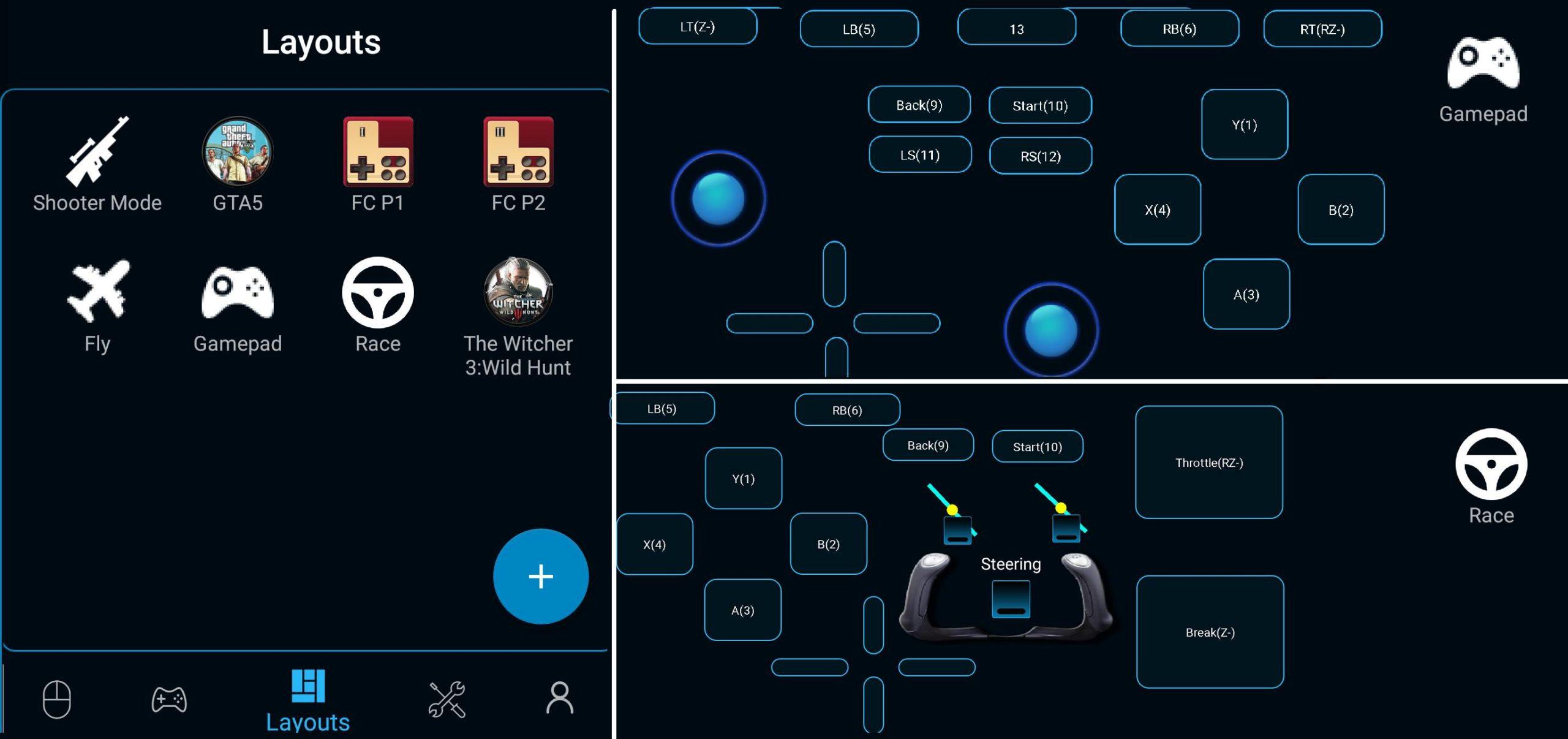 Telefonu Gamepad olarak kullanma PC Remote