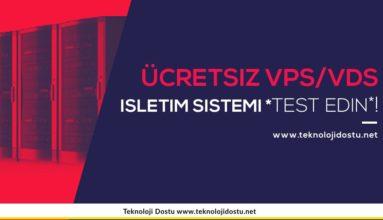 Bedava VPS/VDS – Tüm İşletim Sistemlerini Tarayıcı Üzerinden Test Edin!