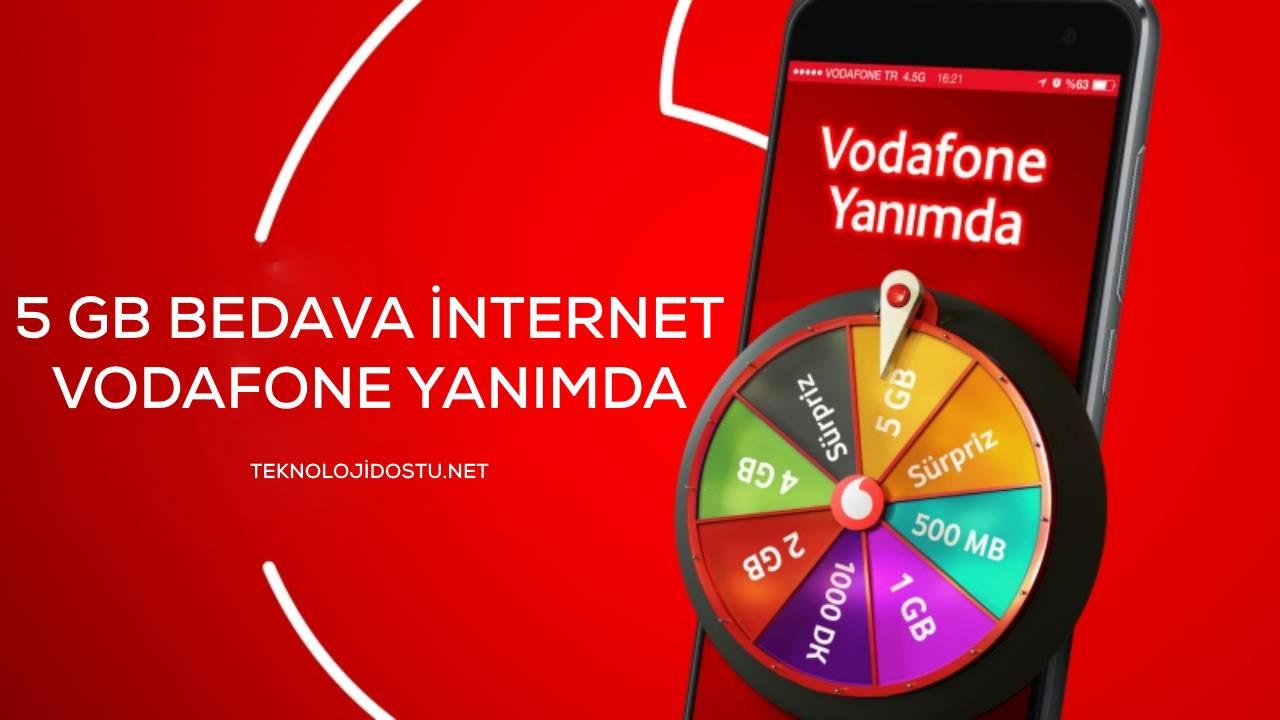 Vodafone Bedava İnternet