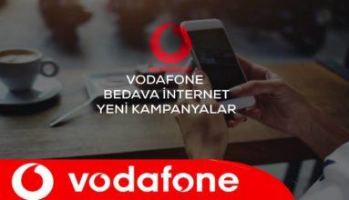 Vodafone Bedava İnternet 2020 – Yeni Geçerli Yöntemler
