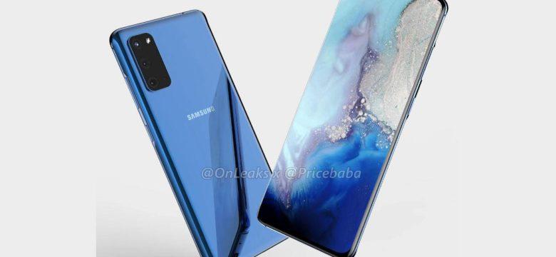 Samsung Galaxy S11, Galaxy S20 Olarak Tanıtılabilir