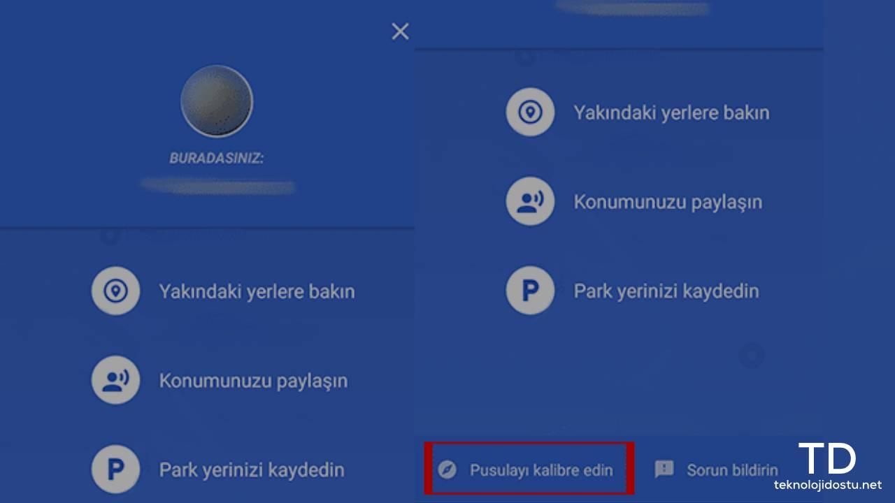 Android GPS Kalibrasyon