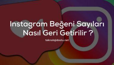 Instagram Beğeni Sayıları Nasıl Geri Getirilir ? Tüm Kullanıcıların Beğeni Sayılarını Görün!