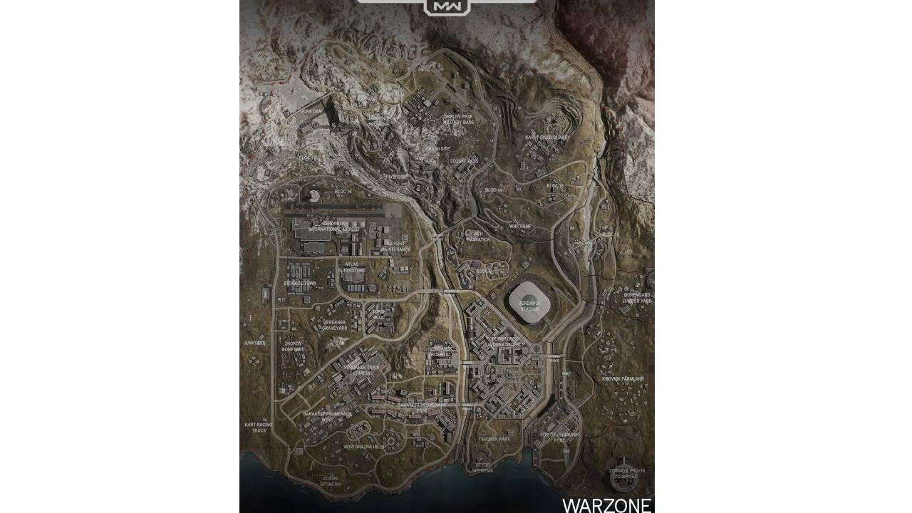 Call Of Duty: Warzone Harita